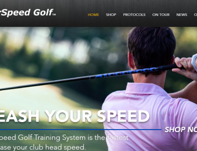 Superspeed golf training logo