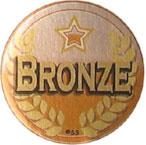 bronze medal medallion